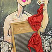 Bubbles Aka Washboard Abs Art Print