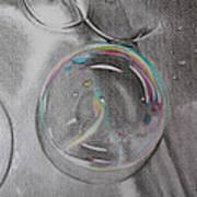 Bubbles In The Sink Art Print