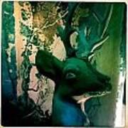 Buck A Deer Art Print