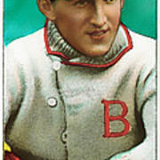 Buck Herzog Boston Braves Baseball Card 0500 Art Print by Wingsdomain Art and Photography