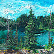 Buck Lake Art Print