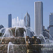 Buckingham Fountain Revisited Art Print