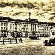 Buckingham Palace Vintage Art Print