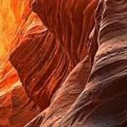 Buckskin Gulch Slot Canyon Fire Art Print