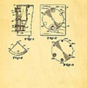 Bucky Einstein Auto Exposure Camera Patent Art 1936 Art Print