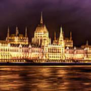 Buda Parliament  Art Print