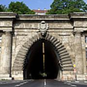 Buda Tunnel In Budapest Art Print