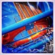 #budapest #boat #design #navigation Art Print