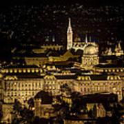 Budapest Castle Art Print