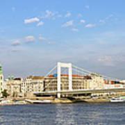 Budapest Skyline Art Print