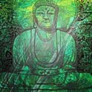 Budda's Garden Art Print
