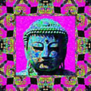 Buddha Abstract Window 20130130p0 Art Print