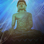 Buddha Cosmic Mind Art Print