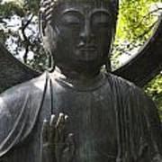Buddha Detail Art Print