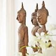 Buddha Figurine  Art Print