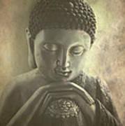 Buddha Art Print by Madeleine Forsberg