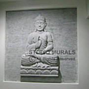 Buddha  Art Print by Milind Badve