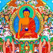 Buddha Shakyamuni 1 Art Print