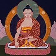 Buddha Shakyamuni Print by Leslie Rinchen-Wongmo