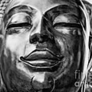 Buddha Smile Art Print