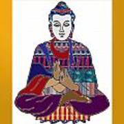Buddha Spirit Humanity Buy Faa Print Products Or Down Load For Self Printing Navin Joshi Rights Mana Art Print