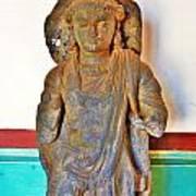 Ancient Buddha Statue - Albert Hall - Jaipur India Art Print