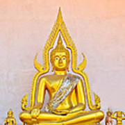 Buddha Statue Art Print by Keerati Preechanugoon