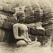 Buddha Sukhothai Thailand 5 Art Print