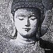 Buddha V Art Print