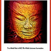Buddhas Mind IIi Art Print