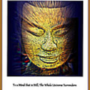 Buddhas Mind Art Print