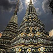 Buddhist Temple In Bangkok Thailand Buddhism Wat Po Art Print