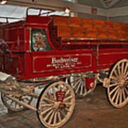 Budweiser Anheuser Busch Wagon Art Print