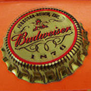 Budweiser Cap Print by Tony Rubino