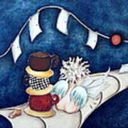 Buenas Noches Inspiracion Art Print by Belen Jauregui