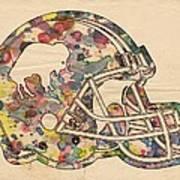 Buffalo Bills Vintage Art Art Print