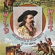 Buffalo Bills Wild West Art Print by Unknown