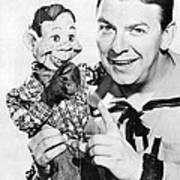 Buffalo Bob And Howdy Doody Art Print