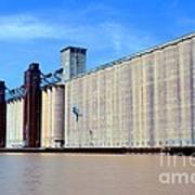 Buffalo Grain Mill Art Print