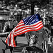 Buffalo Marathon 2013 Respect Art Print