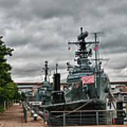 Buffalo Naval And Military Park Art Print