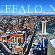 Buffalo Ny Winter 2013 Art Print