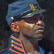 Buffalo Soldier Art Print