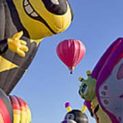 Bug Balloons Waiting To Fly Art Print