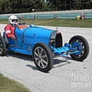Bugatti Type 35 Racer Art Print
