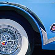 Buick Skylard Wheel Emblem Art Print