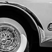 Buick Skylark Wheel Emblem Art Print