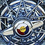 Buick Skylark Wheel Art Print