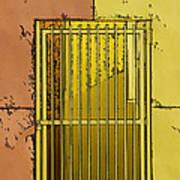 Building Access Denied Art Print