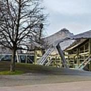 Building At Olympic Village Munich Germany Art Print